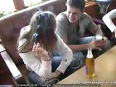 Drunk Whore Fucks 2 Strangers