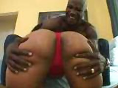 What A Monster Booty Ebony Lady!