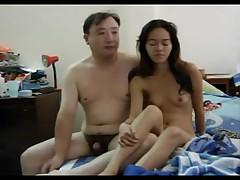 Thai unsubtle in the sky hidden cam
