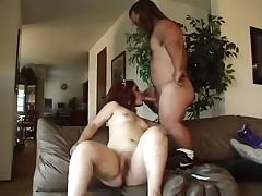Horny midget couple fucking