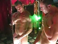Alexis Strips and J O... Cums Buckets!