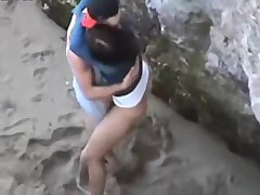 Hot Couple Fucking on a Beach