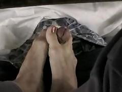 Bellecita's footjob under the table pt. 1