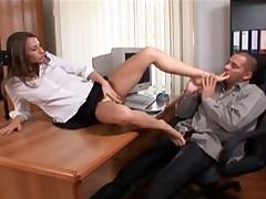 Cindy - Foot Job