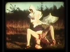 Vintage Nuns Threesome
