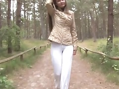 Eroberlin Anastasia Petrova Nudist Forest outdoor teen