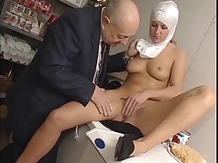 Nun and dirty old man - soft
