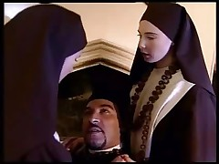 Two Nuns Pleasing Their Father, Every Which Way