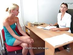 Vanessa Gyno Exam
