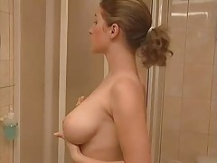 Sauna Sex Huge Breasted Lady
