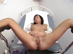 Gyno check the orgasm comes 1