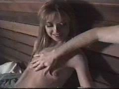 Teen orgy in sauna