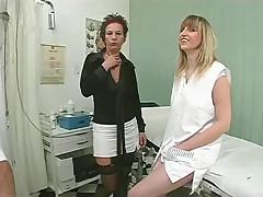 Doctor makes no simple examination