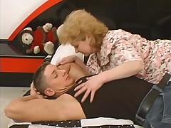 Big Ass Germen Granny Fucked