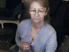 Spectacular granny with glasses 3