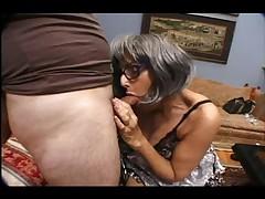Nursing home granny fucks